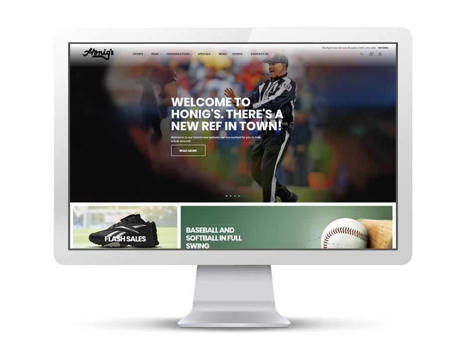 Honigs Online store