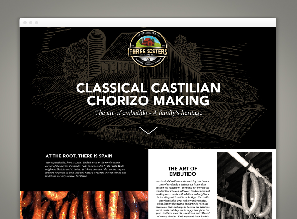 Classical Castilian chorizo Making